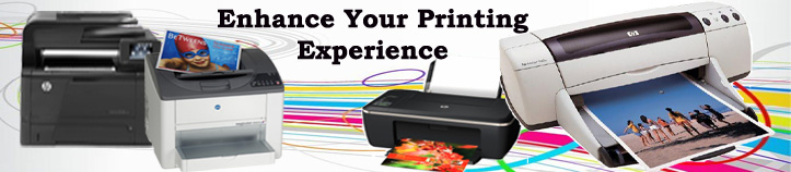 Printer banner